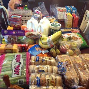 June 1 groceries